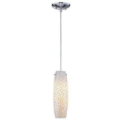 Lite Source Mosaic 1 Light Mini Pendant