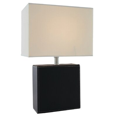 "Lite Source Leandra 17"" H Table Lamp with Rectangle Shade"