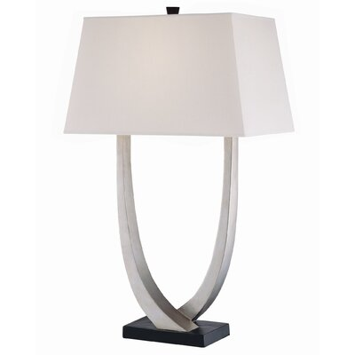"Lite Source Gustavo 29.25"" H Table Lamp with Rectangle Shade"