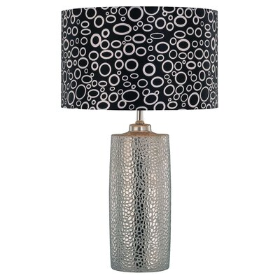 "Lite Source Broden Silvio 24"" H Table Lamp with Drum Shade"