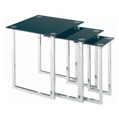 Lite Source 3 Piece Nesting Table