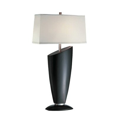 Lite Source Ofira Table Lamp in Dark Walnut