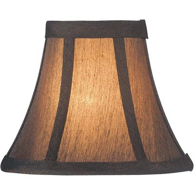 Candelabra Lamp Shade in Bronze