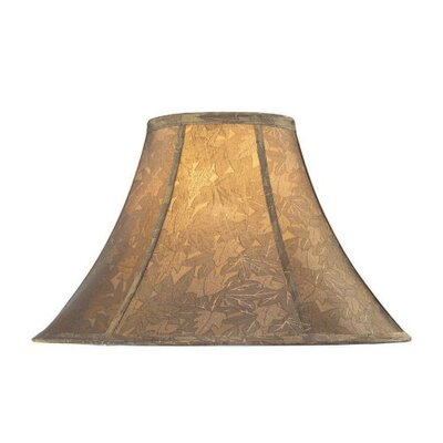 Lite Source Jacquard Bell Lamp Shade in Gold