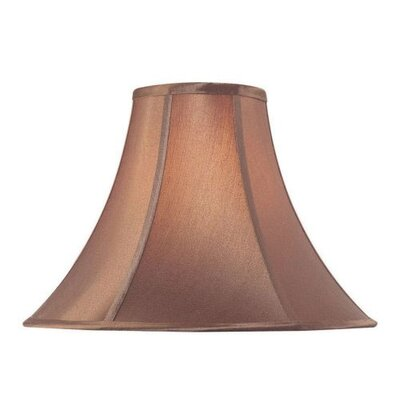 Lite Source Bell Lamp Shade in Burgundy