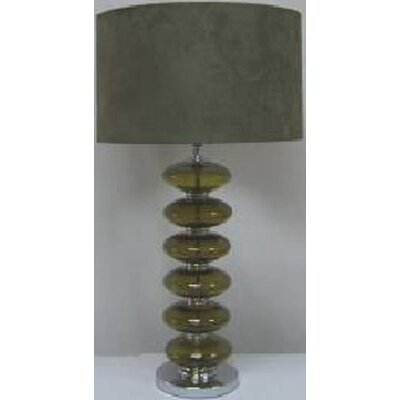 "Lite Source 28"" x 15"" Table Lamp in Chrome"
