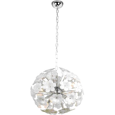 Lite Source Daisy 7 Light Chandelier