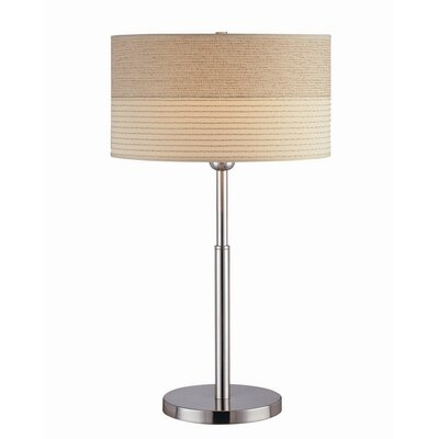 "Lite Source Relaxar 26"" H Table Lamp with Drum Shade"