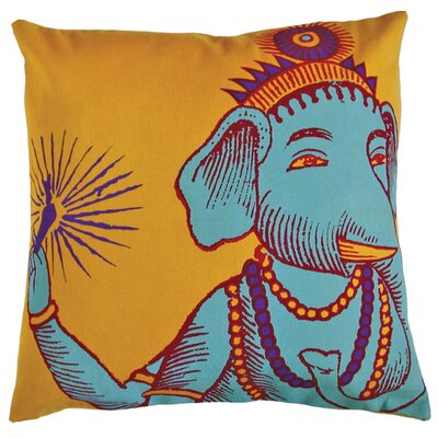 "Koko Company Bazaar 22"" x 22"" Pillow in Yellow"