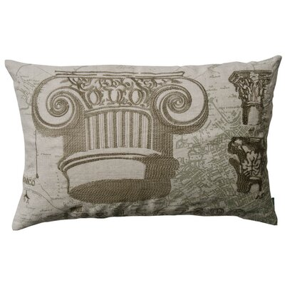 Koko Company Dome Greek and Roman Capitals Pillow