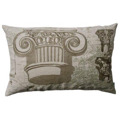 Koko Company Dome Greek and Roman Capitals Pillow