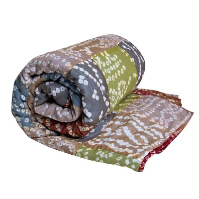 Koko Company Tie-Dye Cotton Throw