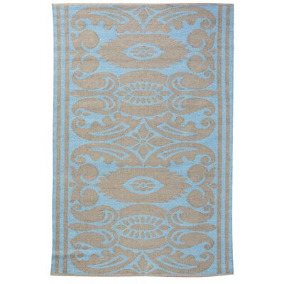 Koko Company India Lead/Aqua Outdoor Rug