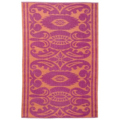 Koko Company India Mauve/Rust Outdoor Rug