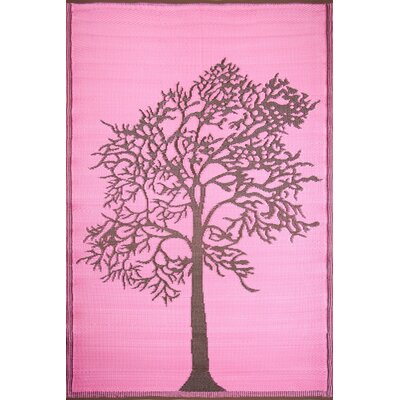 Koko Company Tree Brown / Pink Rug
