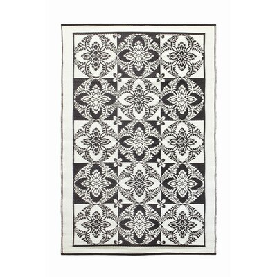 Koko Company Primrose Midnight Outdoor Rug
