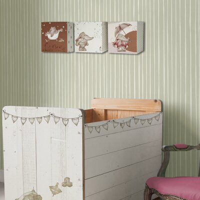 Graham & Brown Eleflump Candy Stripe Wallpaper