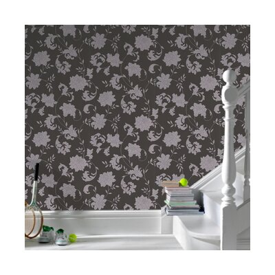 Graham & Brown Laurence Llewelyn Bowen Silk Floral Botanical Wallpaper