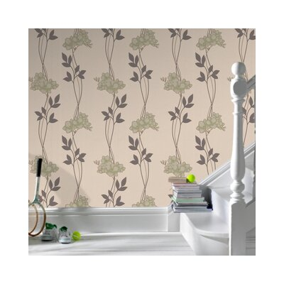 Graham & Brown Serenity Serene Floral Botanical Wallpaper