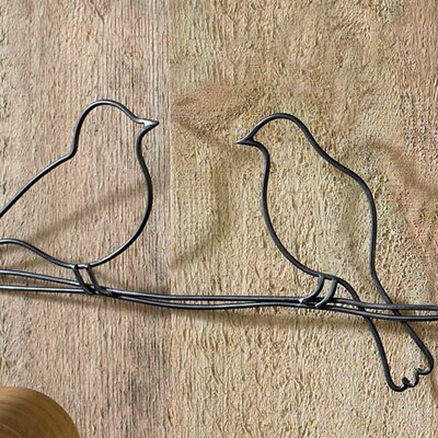 Graham brown birds on a wire wall d cor reviews wayfair for Decoration murale wayfair