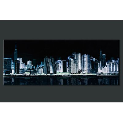 X-ray City Photographic Print on Canvas