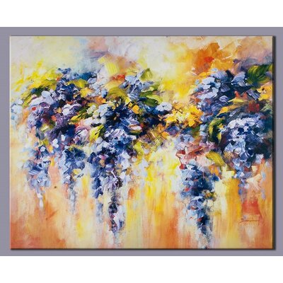 Lupins Original Painting on Canvas