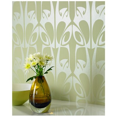 Graham & Brown Hula Wallpaper by Barbara Hulanicki