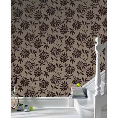Graham & Brown Barbara Hulanicki Flock Ophelia Wallpaper