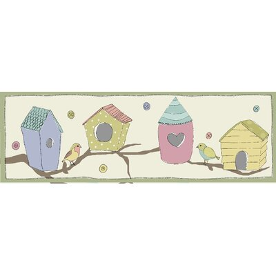 Graham and Brown Bird Houses Magnetic Painting Print on Canvas