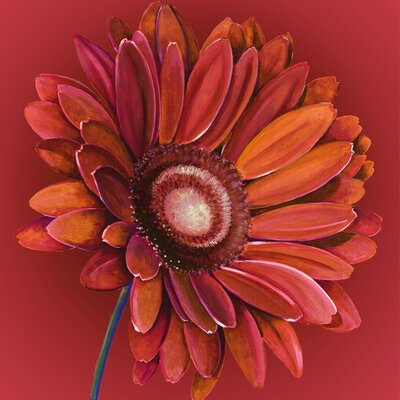 Graham and Brown Gerbera Original Painting on Canvas