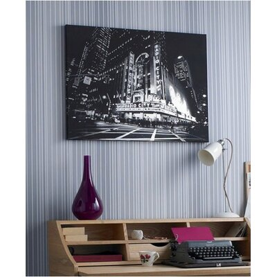 Graham & Brown Metallic City Lights Canvas
