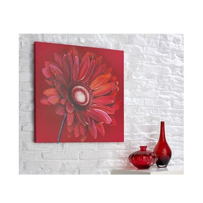 Graham & Brown Graham and Brown Gerbera Original Painting on Canvas