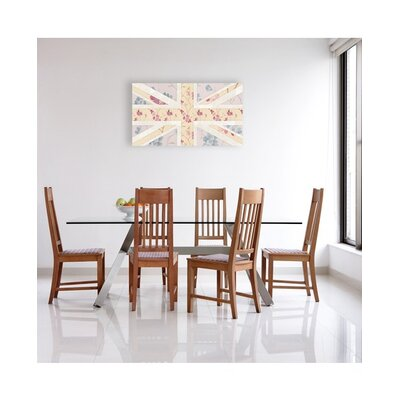 Graham & Brown Graham and Brown Floral Britannia Painting Print on Canvas