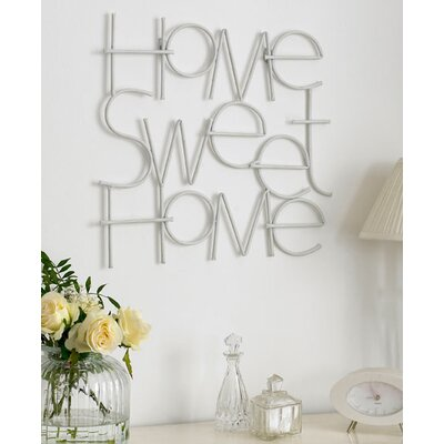 Graham & Brown Sweet Home Metal Art