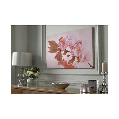 Peach Blossom Painting Print on Canvas