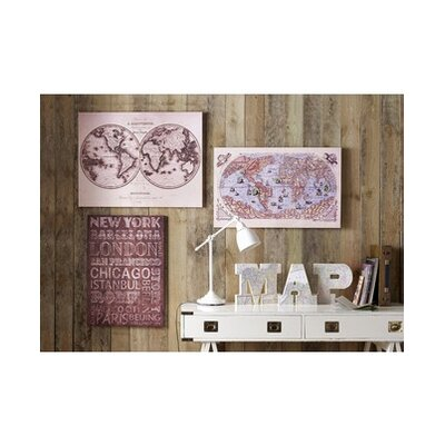 Graham & Brown The World Canvas Wall Art