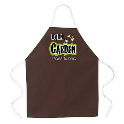 Attitude Aprons by L.A. Imprints Born to Garden Apron
