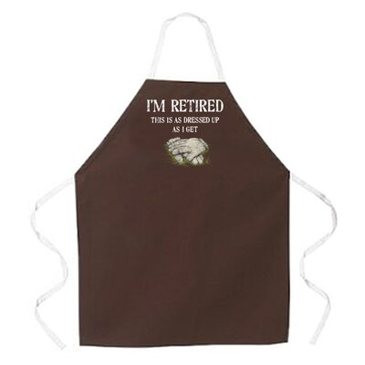 Attitude Aprons by L.A. Imprints Gardening Retired Apron