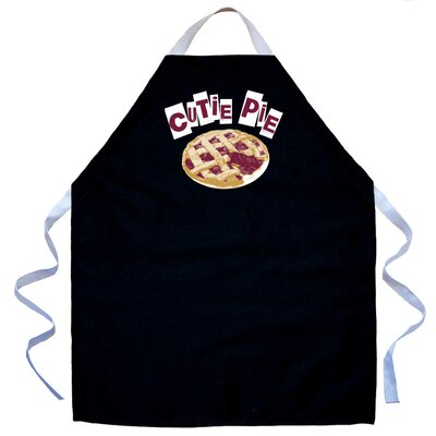 Cutie Pie Apron in Black