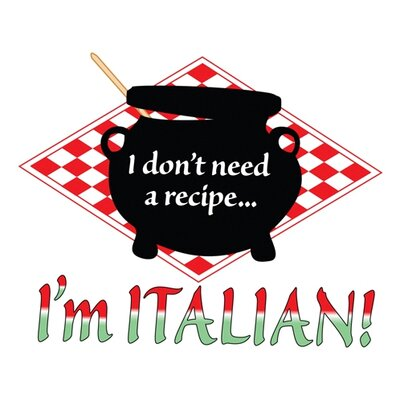 Attitude Aprons by L.A. Imprints Italian Recipe Apron