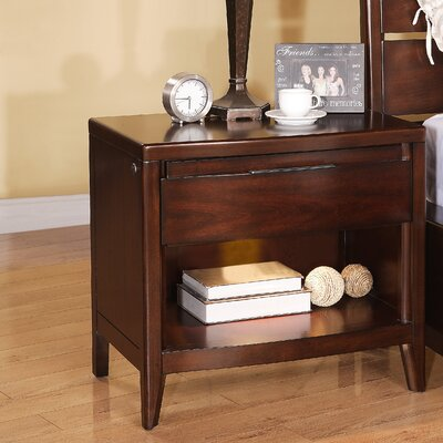 Pulaski Furniture Tangerine 1 Drawer Nightstand
