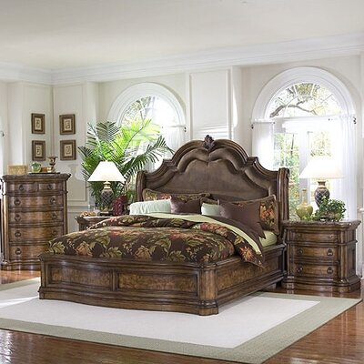 Pulaski Furniture San Mateo Wingback Bedroom Collection