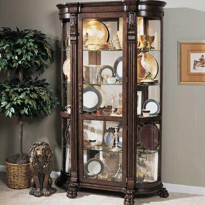 Pulaski Foxcroft Curio Cabinet Amp Reviews Wayfair