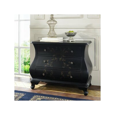 Pulaski Furniture Artistic Expression Hand Painted 3 Drawer Accent Chest