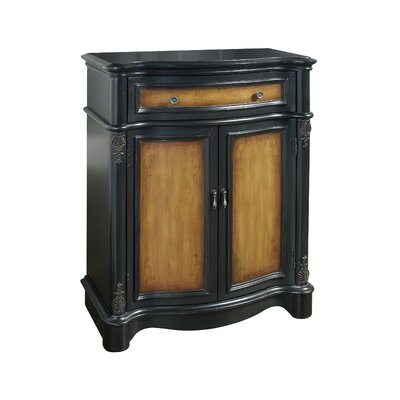 Pulaski Furniture Timeless Classics 1 Drawer 2 Door Teo Toned Accent Chest