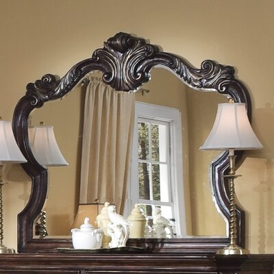 Pulaski Furniture Wellington Manor Crowned Top Dresser Mirror
