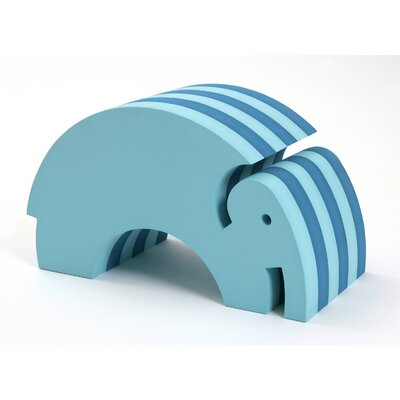 bObles Tumbling Elephant in Turquoise