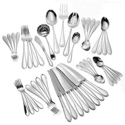 Tuttle Triumph 46 Piece Dinner Flatware Set
