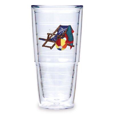 Tervis Tumbler Beach Chair 24 oz. Blue Tumbler