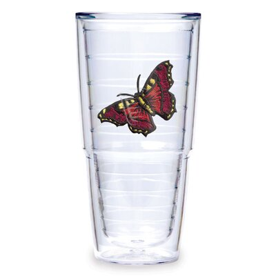 Tervis Tumbler Butterfly 24oz. Mar Red Tumbler